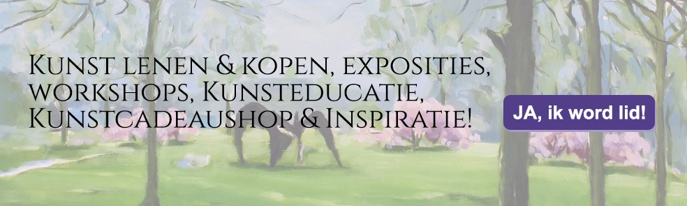 Kunst lenen & kopen, exposities, workshops, Kunsteducatie, Kunstcadeaushop & Inspiratie! - Lid worden